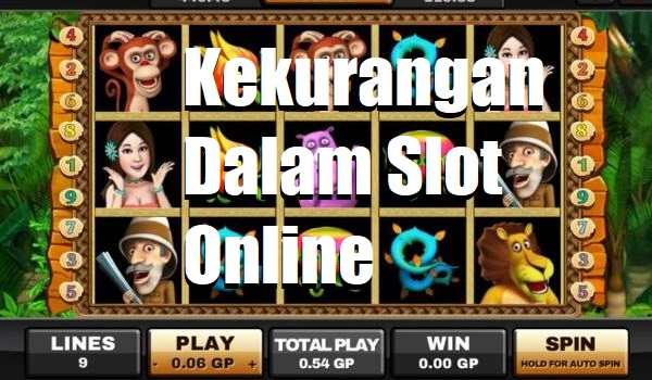Kekurangan Dalam Slot Online